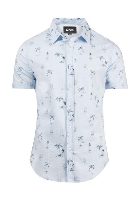 Men's Surf Print Shirt