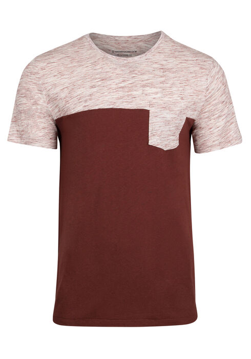 Men's Everyday Pocket Tee, BRICK, hi-res