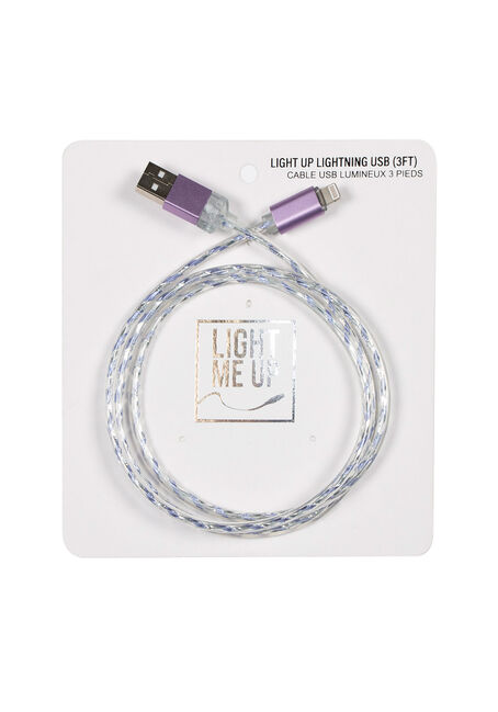 Light Up USB Charger Cord