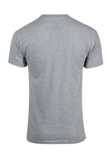 Men's Venom Tee, HEATHER GREY, hi-res