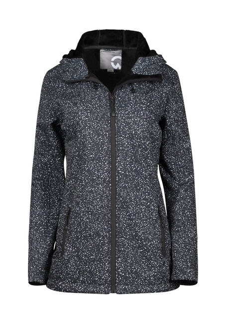 Women's Speckle Softshell Jacket