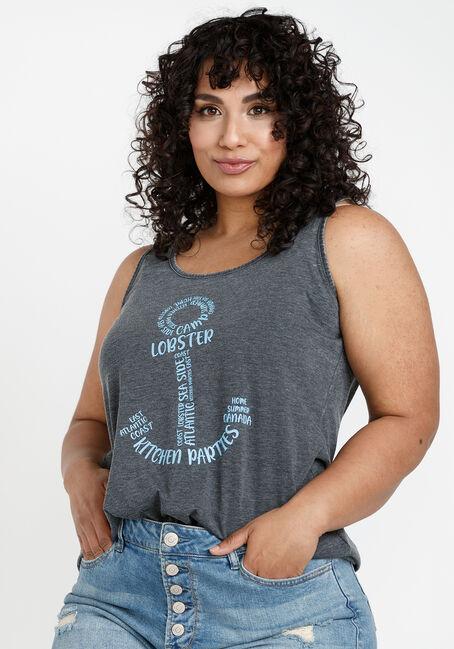 Women's Anchor Keyhole Tank