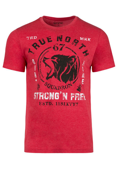 Men's True North Grizzly Tee