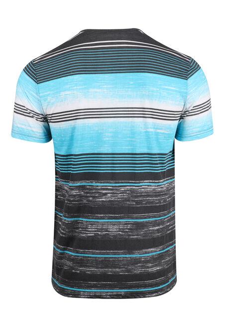 Men's Everyday Striped Tee, SKY, hi-res