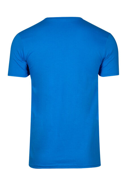 Men's Don't Care Tee, ROYAL BLUE, hi-res