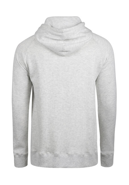 Men's Raglan Hoodie, HEATHER GREY, hi-res