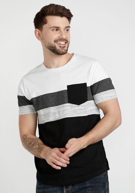 Men's Short Sleeve Colourblock Tee