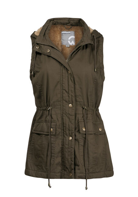 Women's Hooded Anorak Vest