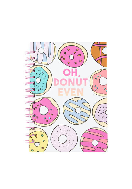 Oh Donut Even Notebook