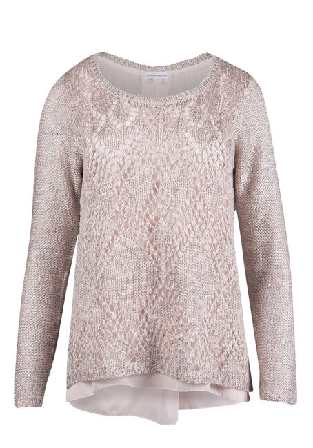 Ladies' Sequin Sweater