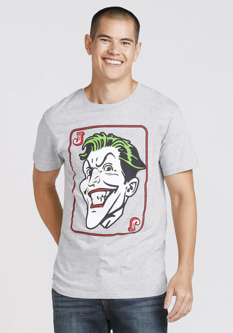 Men's Joker Tee, HEATHER GREY, hi-res