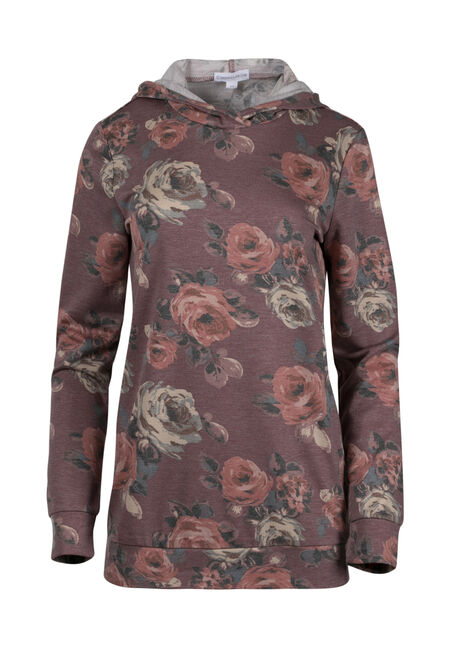 Women's Floral Hooded Tee
