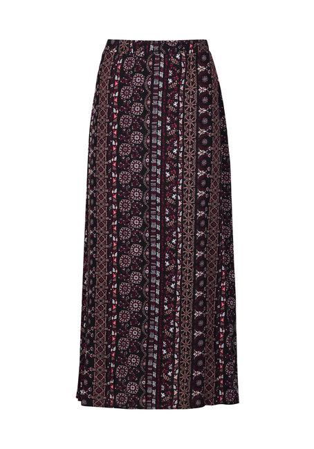 Women's Side Slit Maxi Skirt