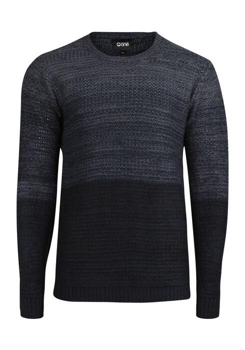 Men's Ombre Sweater, INK, hi-res