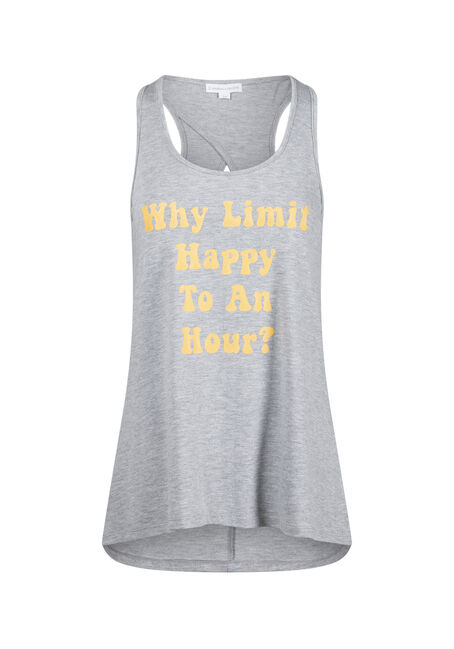 Women's Happy Hour Keyhole Tank