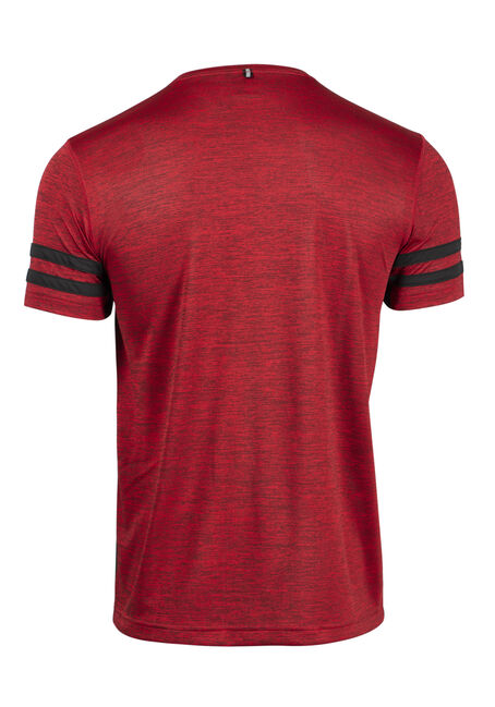 Men's Athletic Tee, RED (HEAT), hi-res