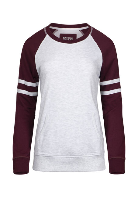 Women's Football Crew Neck Fleece