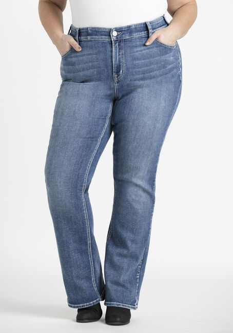 Women's Plus Baby Boot Jeans