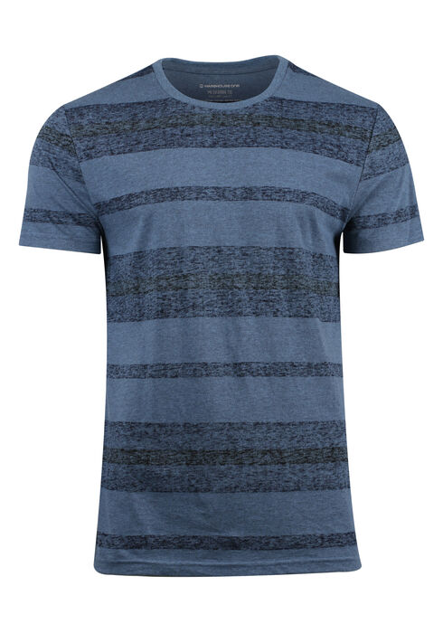 Men's Everyday Striped Tee, SHADOW BLUE, hi-res
