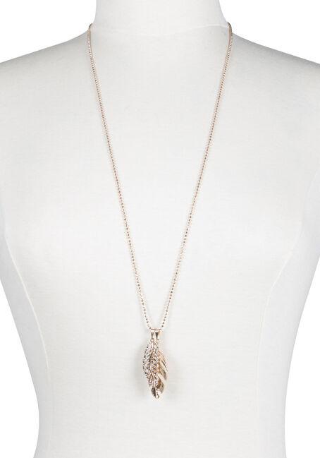 Ladies' Double Leaf Necklace