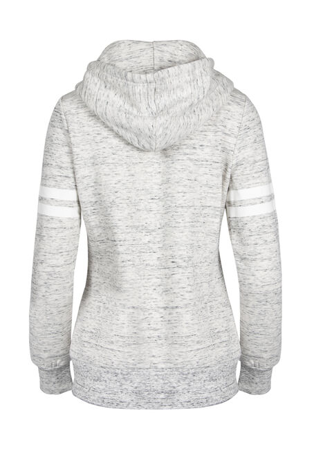 Ladies' Love Colour Block Hoodie, DUSTY ROSE, hi-res