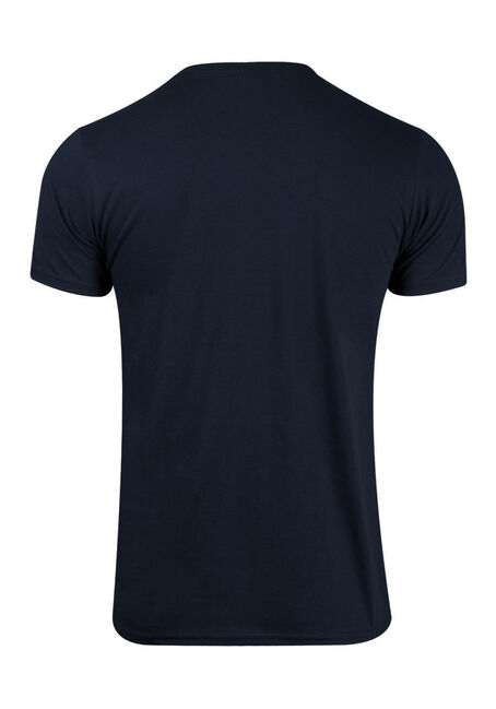 Men's Pac-Man Tee, NAVY, hi-res