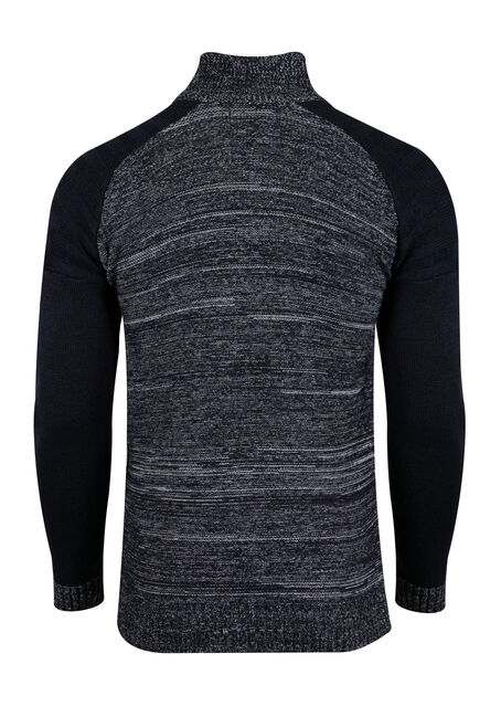 Men's Raglan Sweater, NAVY, hi-res