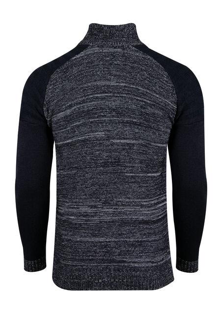 Men's Raglan Sweater, NAVY, hi-res