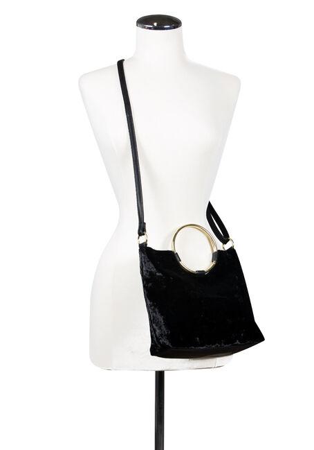 Women's Ring Bag, BLACK, hi-res