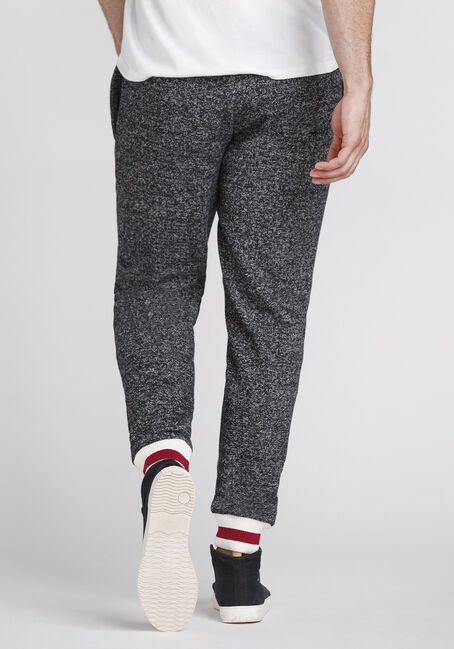 Men's Fleece Cabin Jogger, CHARCOAL, hi-res