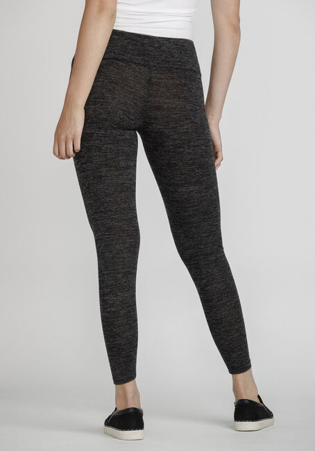 Women's High Waist Super Soft Legging, BLACK MIX, hi-res