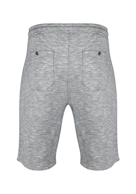 Men's Knit Short, HEATHER GREY, hi-res