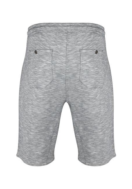 Men's Knit Short, HEATHER GREY, hi-res
