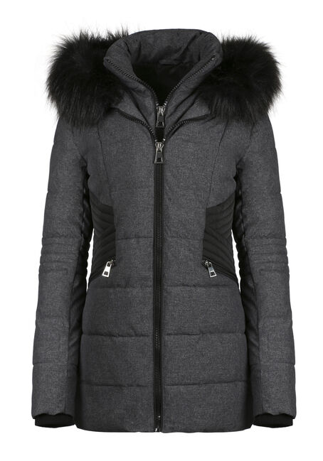 Ladies' Quilted Parka