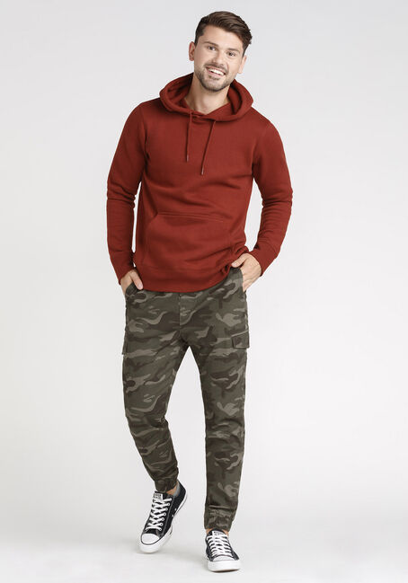 Men's Washed Classic Hoodie, TOBASCO, hi-res