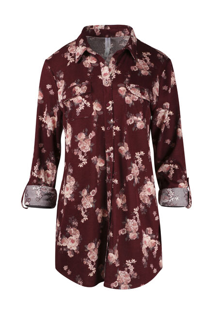 Ladies' Floral Relaxed Fit Shirt