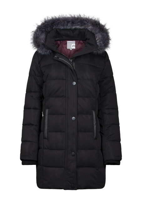 Women's Quilted Parka