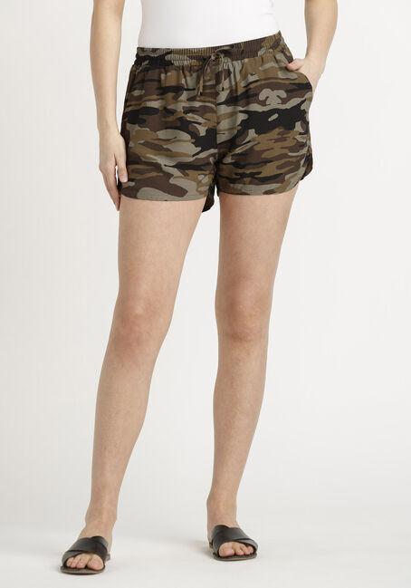 Women's Camo Soft Pull-on Short