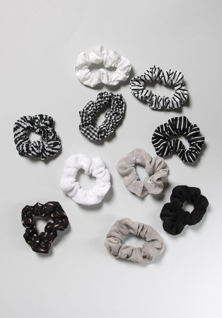 10 Pack Scrunchie Set
