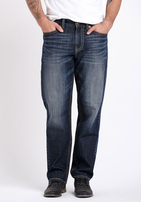 Men's Vintage Relaxed Straight Jeans