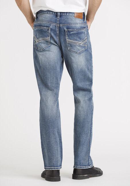 Men's Medium Wash Classic Boot Jeans, MEDIUM WASH, hi-res