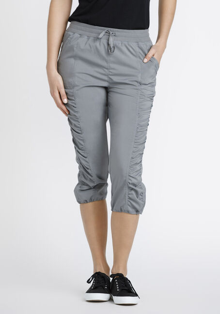 Women's Ruched Capri