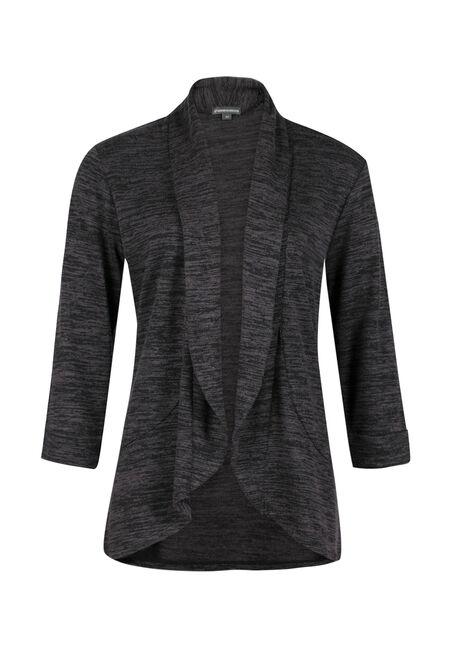 Ladies' Knit Open Blazer