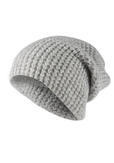 Women's Slouchy Hat, LIGHT GREY, hi-res