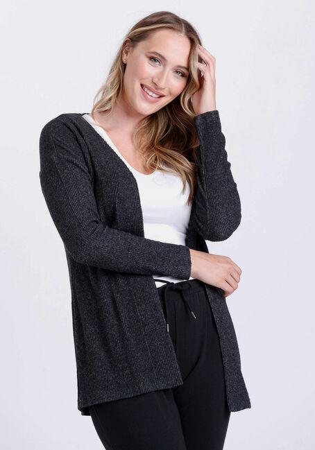 Women's Rib Knit Cardigan