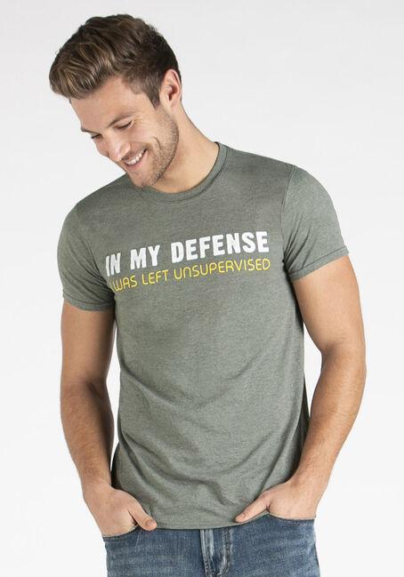 Men's In My Defense Tee