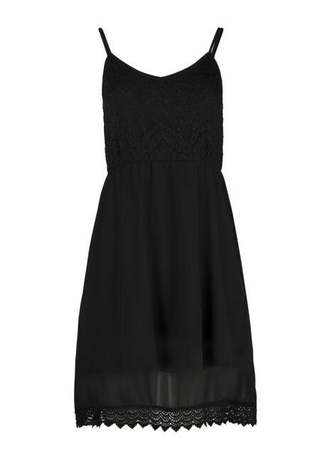 Ladies' Crochet Trim Strappy Dress