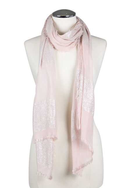Ladies' Shimmer Striped Scarf