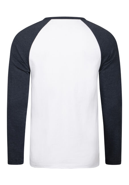 Men's Everyday Baseball Tee, NAVY, hi-res