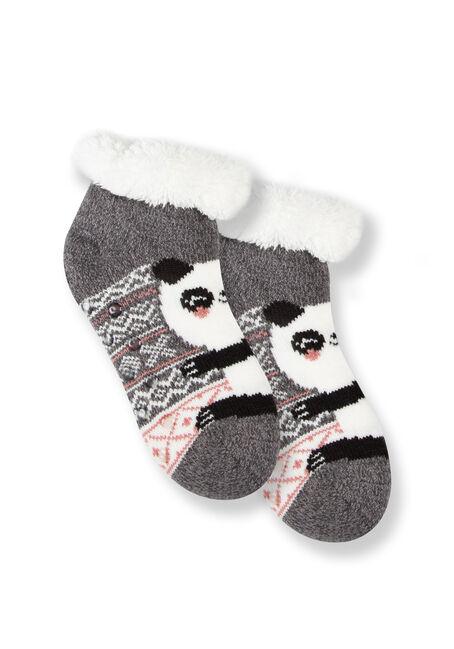 Women's Panda Slipper Socks